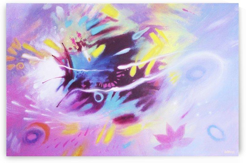 PURPLE FLOW by DADOART
