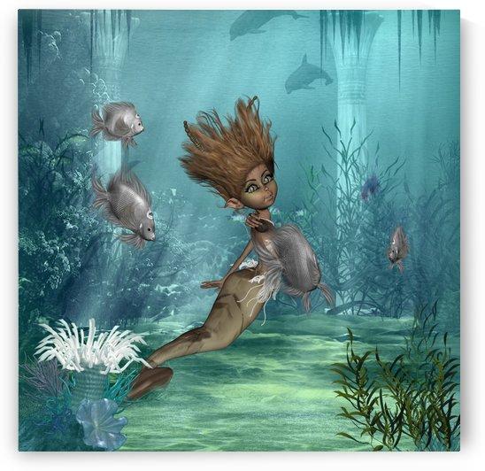 Cute little mermaid by nicky2342