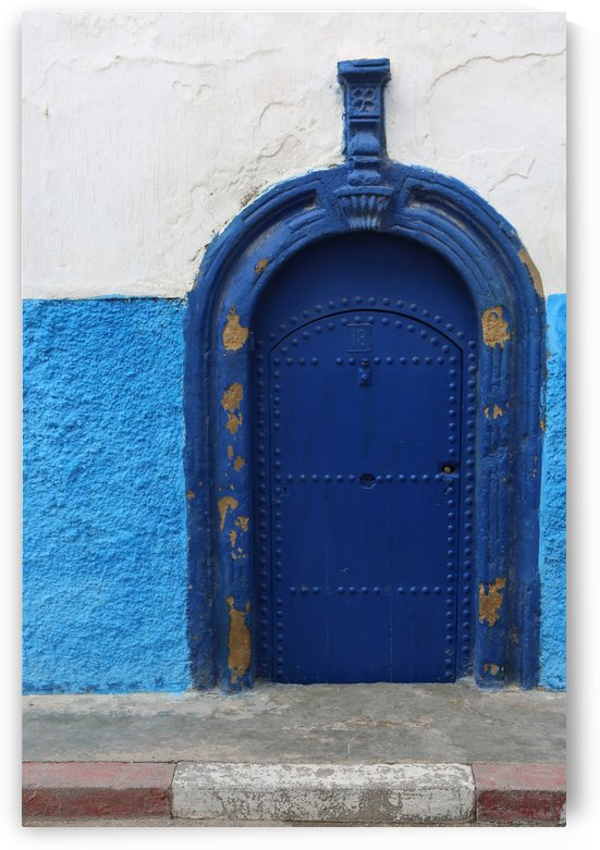 Blue Door - Marokko 3287 by Move-Art