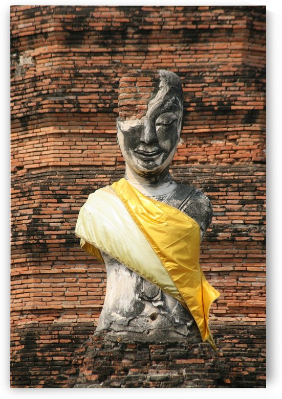 Broken old Statue of Buddha 5525 by Move-Art