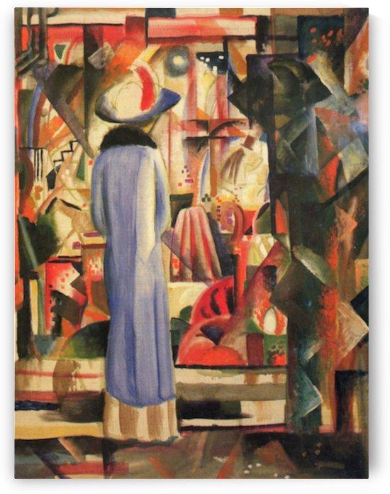 Large bright showcase by Macke by Macke