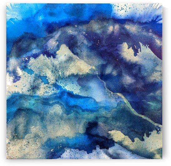 Blue Mirage II by Amber Lamoreaux