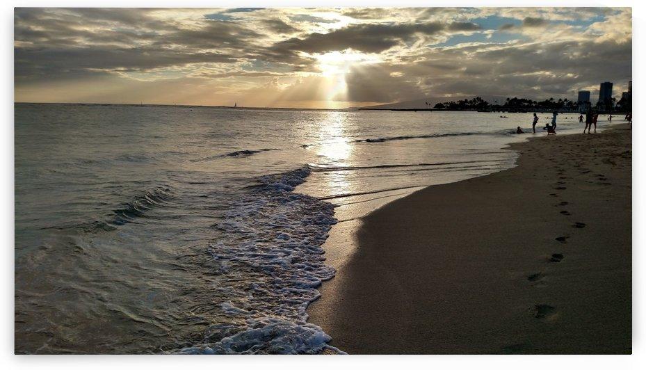 Sunset beach Hawaii 4 by Zzyzx