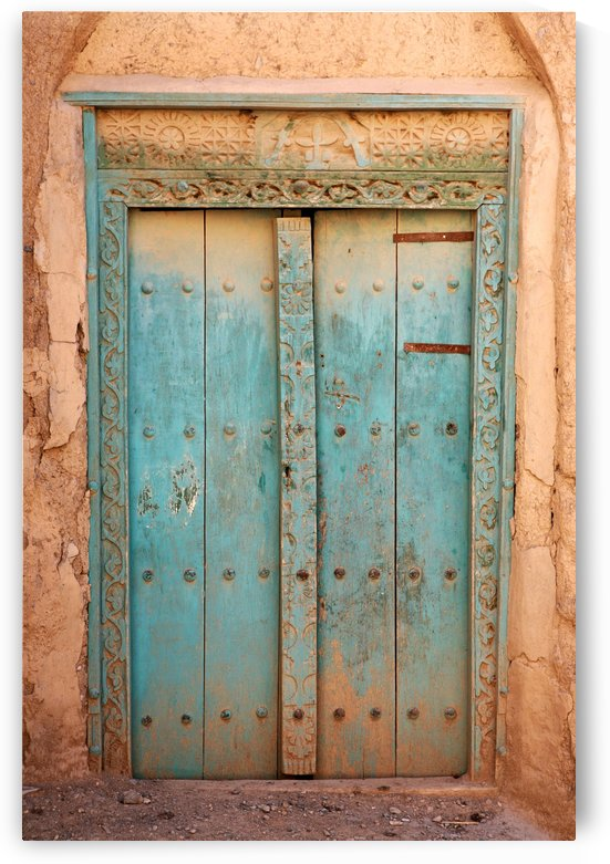 Old Arabic door - Oman 4351 by Move-Art