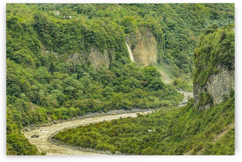 Amazonia Landscape Banos Ecuador by Daniel Ferreia Leites Ciccarino