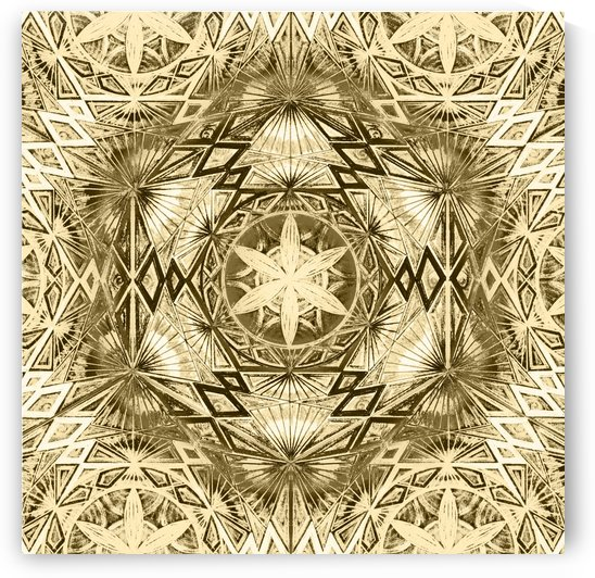 Flower of Life Pattern Handdrawing  by CvetiArt