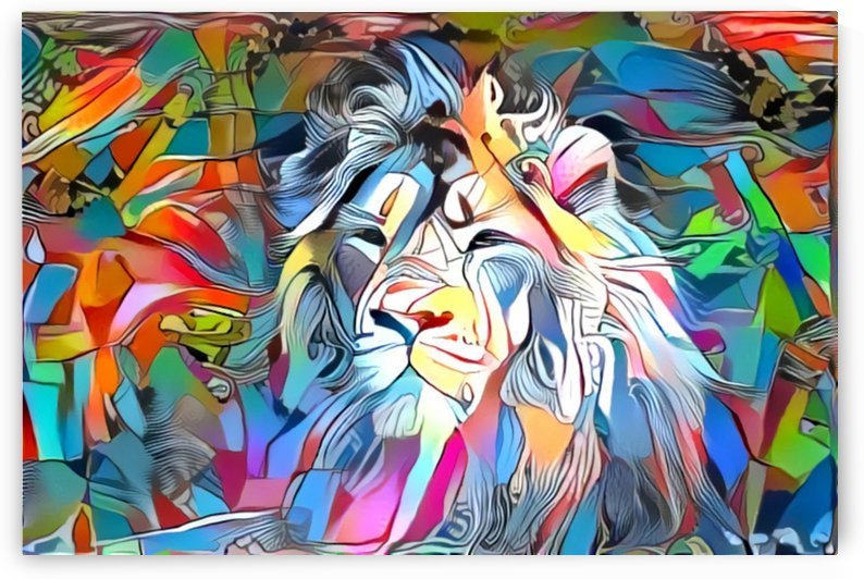Becoming Lion by MadeByPrint