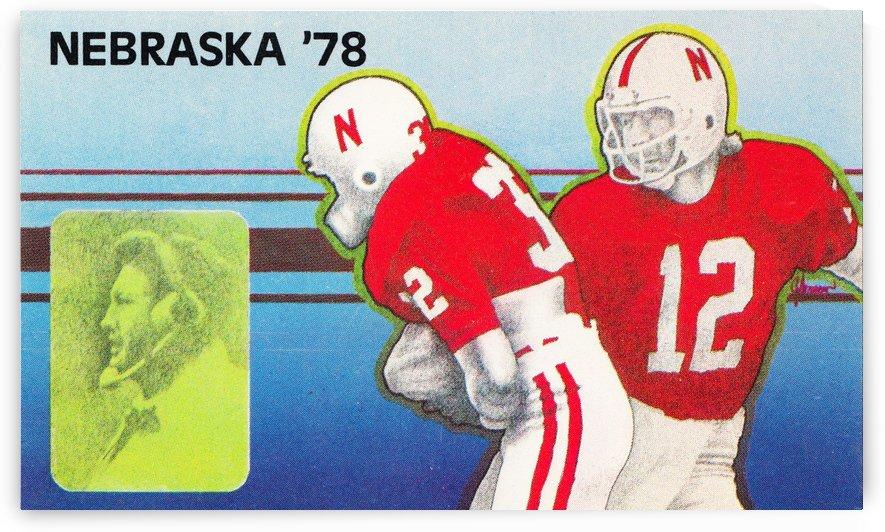 1978 nebraska football  by Row One Brand