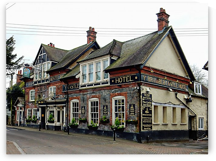 Castle Inn Hotel Bramber by Dorothy Berry-Lound