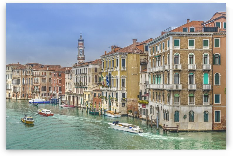 Venice Grand Canal Italy by Daniel Ferreia Leites Ciccarino
