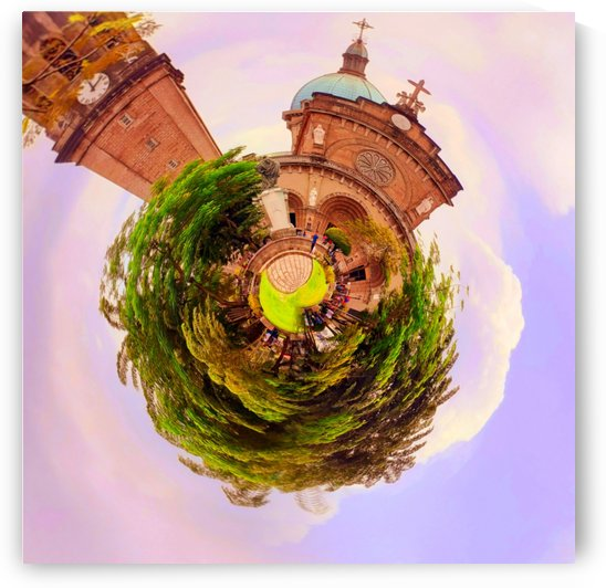 Religion on tiny planet design by jgarcia