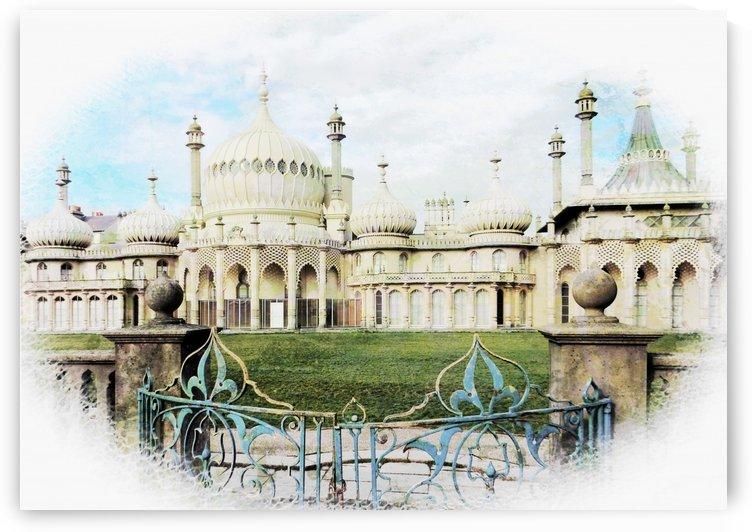 Brighton Pavilion Street View by Dorothy Berry-Lound
