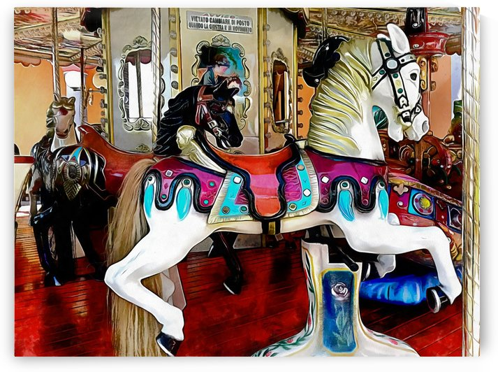 Fairground Horses by Dorothy Berry-Lound