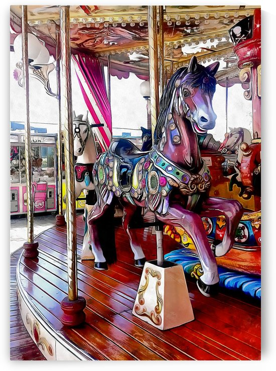 Merry Go Round Horses by Dorothy Berry-Lound