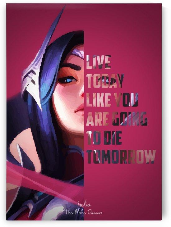 LoL   Irelia   The Blade Dancer by Aasbah