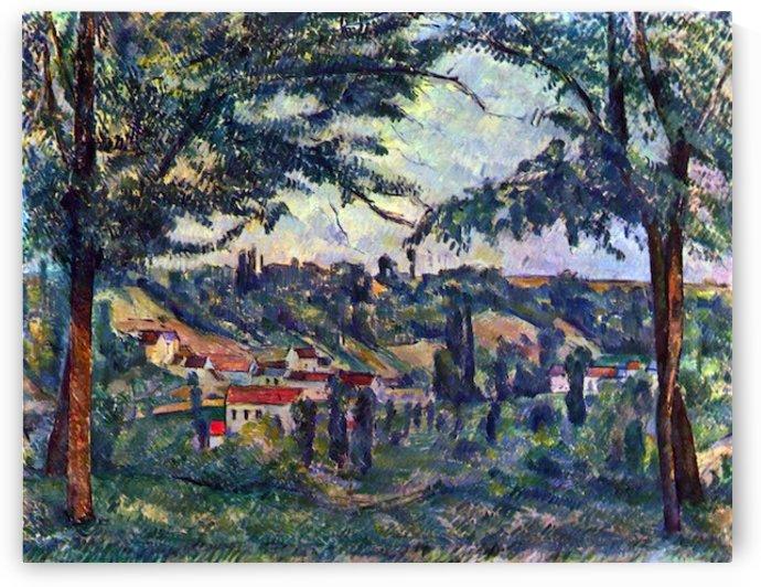 Le Chateau Noir by Cezanne by Cezanne