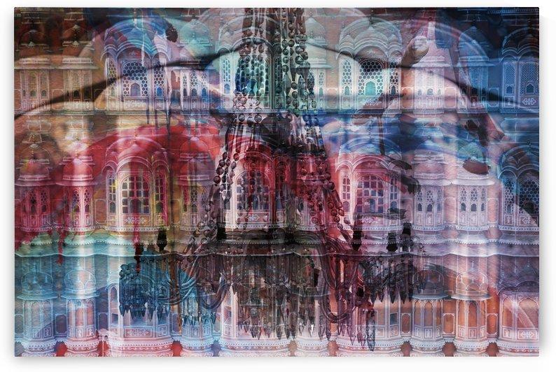 Fassade Mawa Mahal - India abstract by Move-Art-Designs