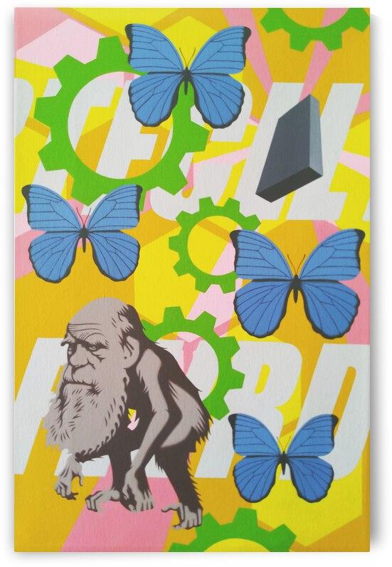 Untitled (Charles Darwin ) by Hirotaka Suzuki