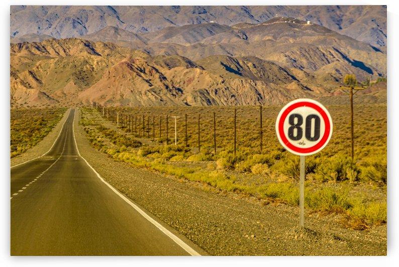 Deserted Landscape Highway San Juan Province Argentina 2 by Daniel Ferreia Leites Ciccarino
