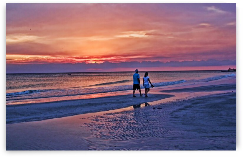 Evening Walk by HH Photography of Florida