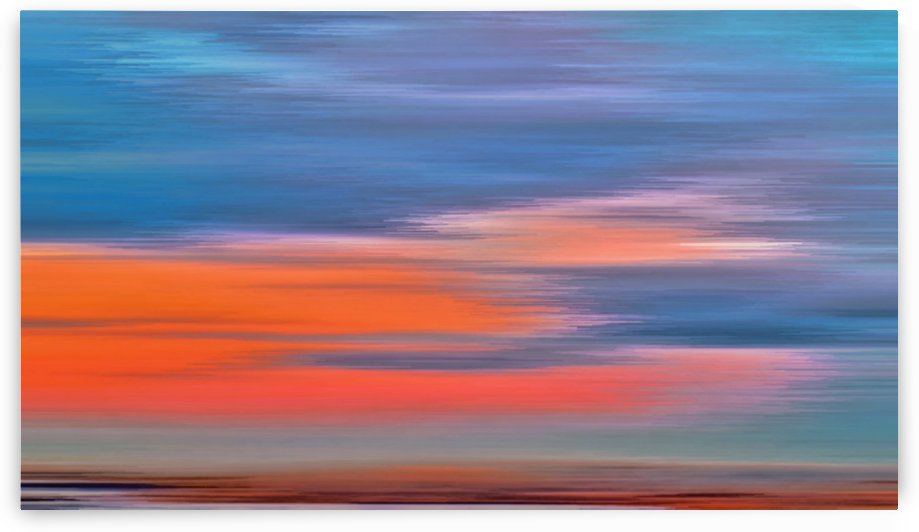 Sunset abstract by jgarcia