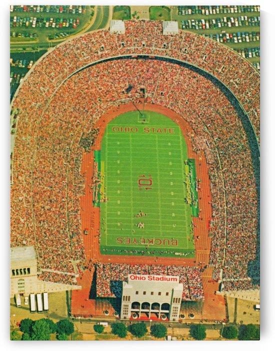 1986 Ohio Stadium Poster Columbus by Row One Brand