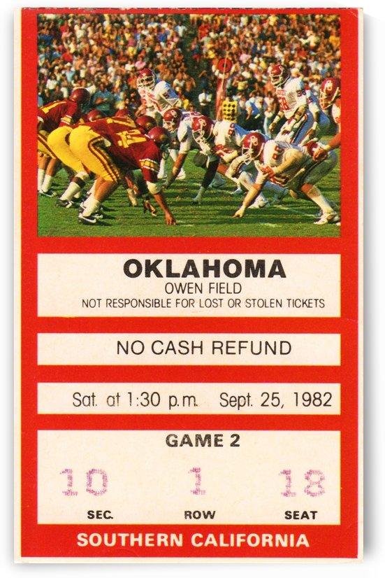 1982 USC vs. Oklahoma by Row One Brand