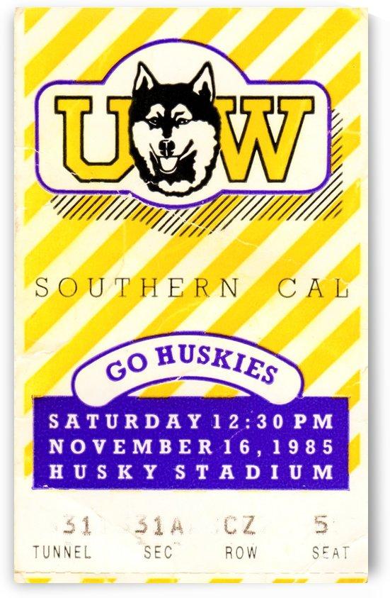 1985 Washington vs. USC by Row One Brand