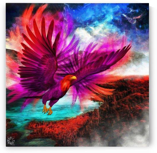 Valles Amras or the Celestial Bird by ChrisHarrisArt