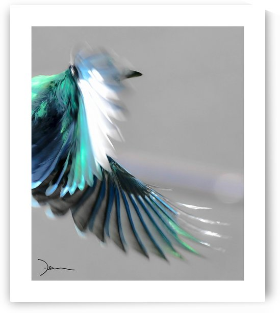 Gaie bleu by Jean-Louis Desrosiers