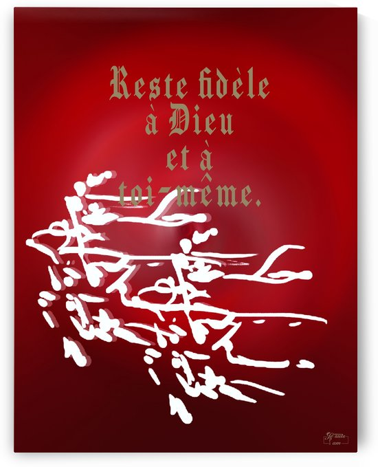 Reste fidele by Rose Kélème