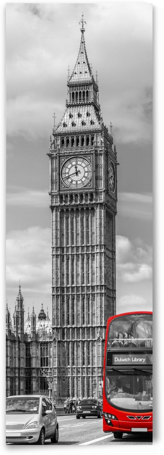 Elizabeth Tower | Vertical Panorama by Melanie Viola
