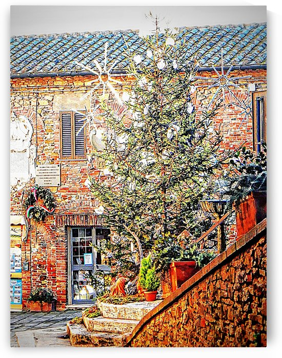Christmas Tree Panicale by Dorothy Berry-Lound
