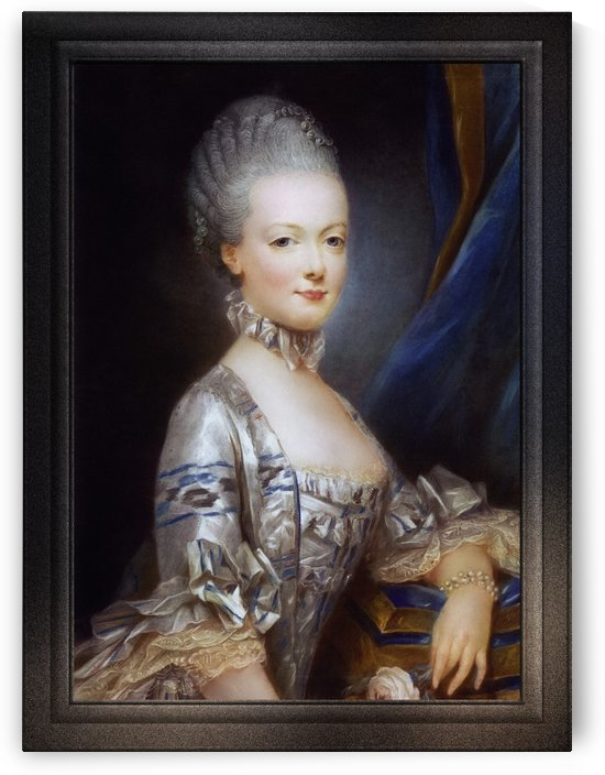 Archduchess Maria Antonia of Austria by Joseph Ducreux Old Masters Fine Art Reproduction by xzendor7