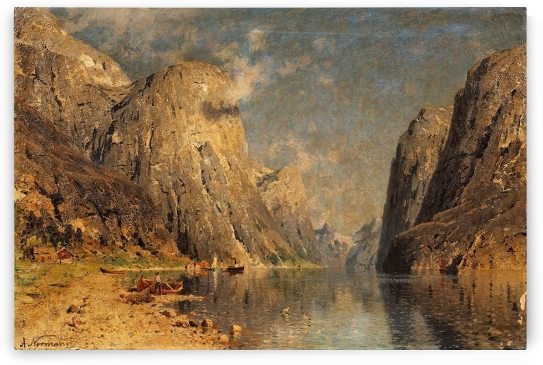 Sognefjord by Adelsteen Normann