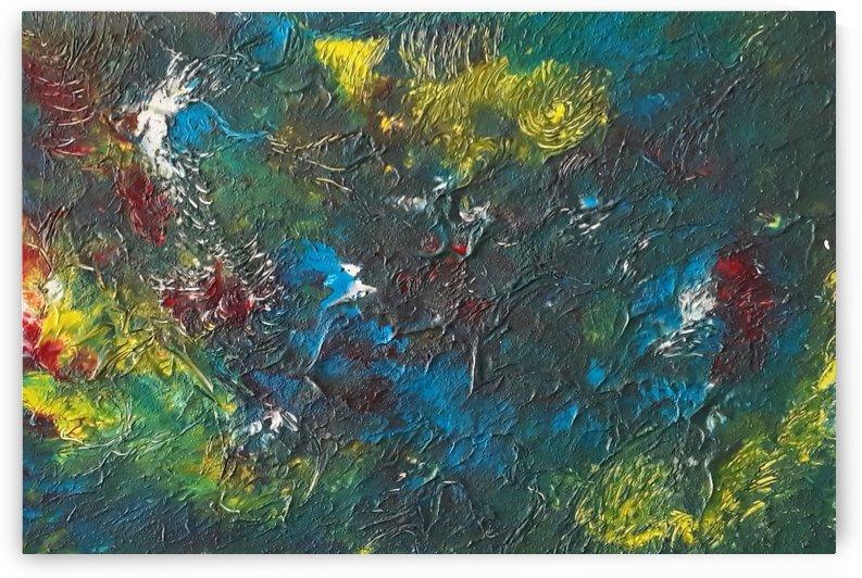Blumen Abstracte Malerei by Irene Ragoss