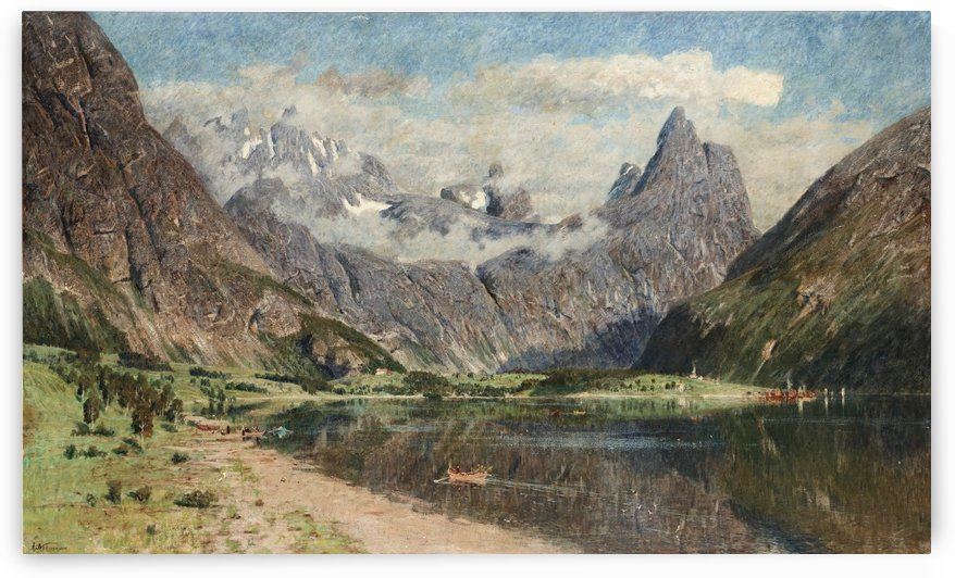 Fjordlands by Adelsteen Normann