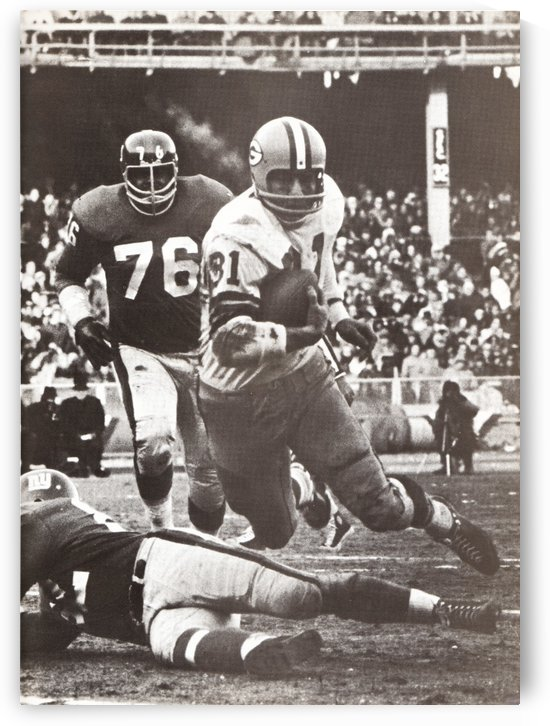 1962 jim taylor green bay packers nfl championship game photo by Row One Brand