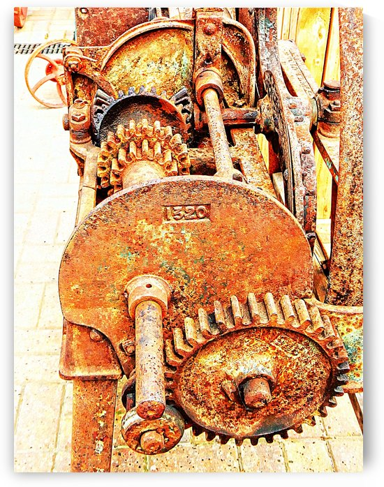 Chaff Cutter Mechanism 1 by Dorothy Berry-Lound