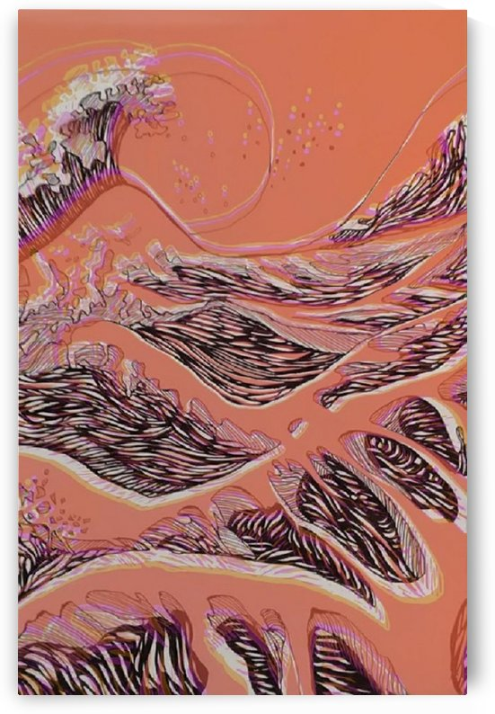 Classic waves by Priyanka Bhowmick