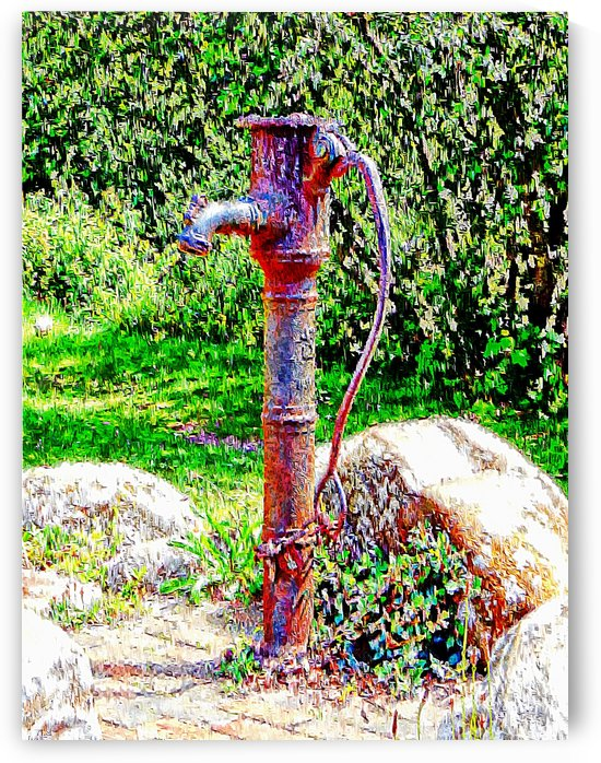 Water Pump Falmer Pond by Dorothy Berry-Lound