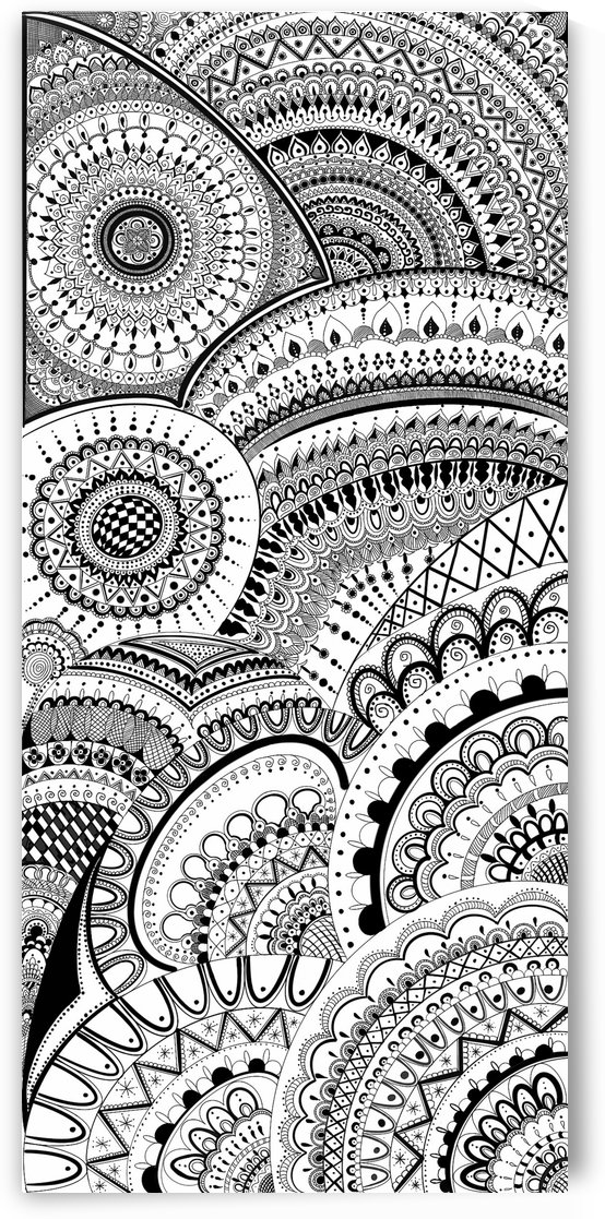 Mandala Artwork by BrilliantBrushes