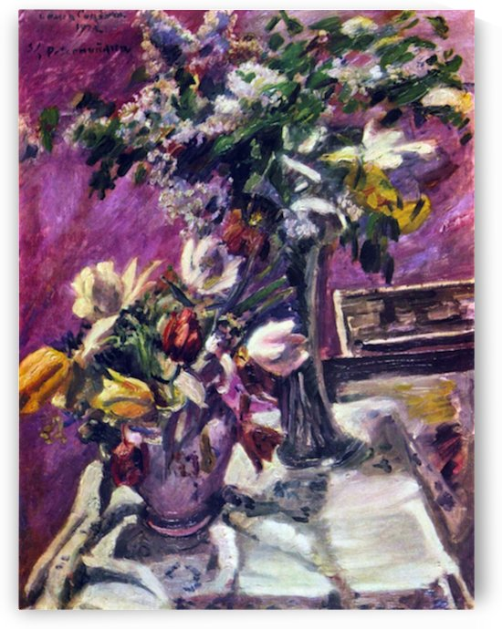 Lilac and tulips by Corinth by Corinth