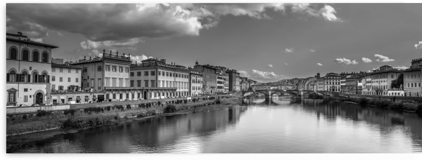 The Arno B and W by Douglas Madel