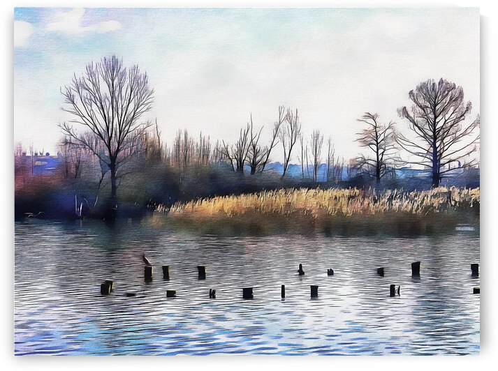 Lago di Chiusi Tuscany by Dorothy Berry-Lound