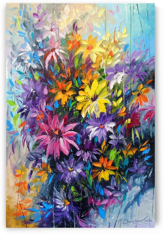 Bright dance of flowers by Olha Darchuk