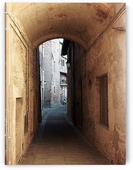 Passageway Low Colour Interpretation Panicale by Dorothy Berry-Lound
