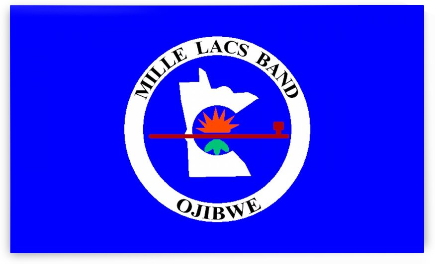 Mille Lacs Band of Ojibwe Flag by Fun With Flags