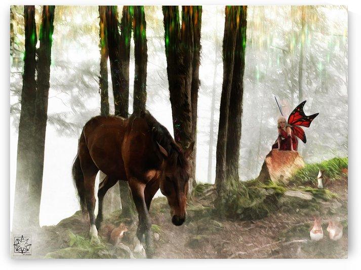 The Fairy Horse by ChrisHarrisArt