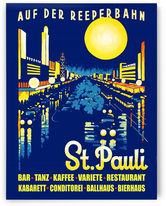St Pauli Evening by vintagesupreme